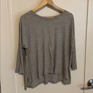 Vince gray cotton top size S